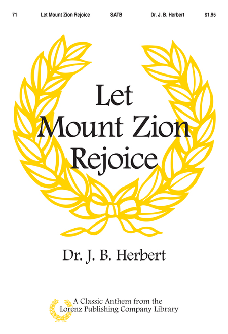 Let Mount Zion Rejoice