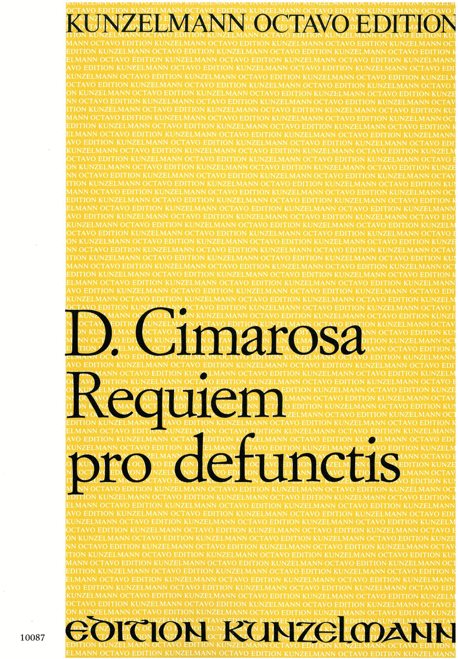 Missa pro defunctis (Requiem)