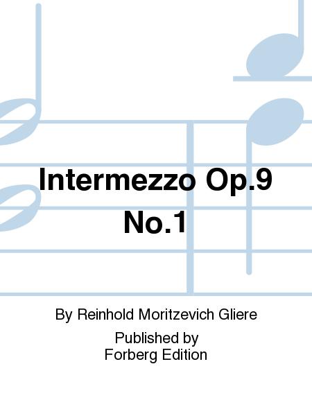 Intermezzo Op. 9 No. 1