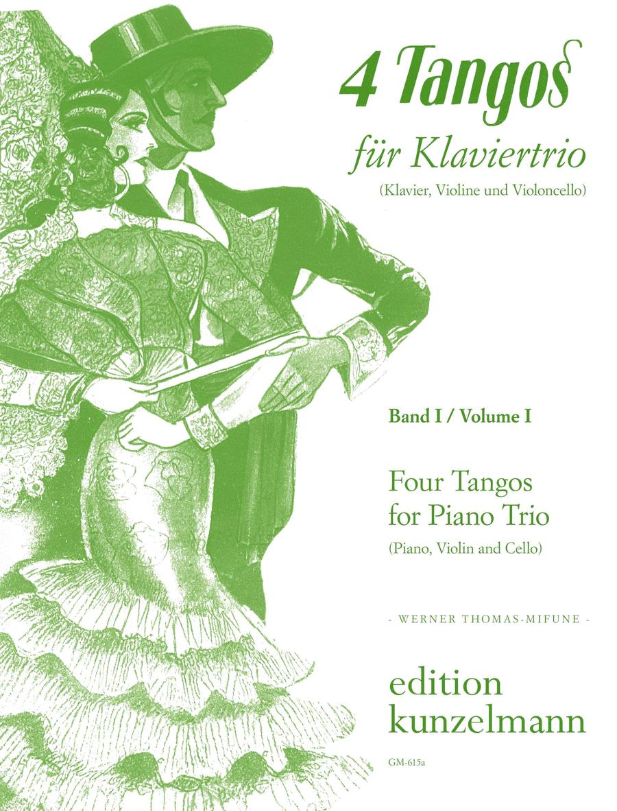 4 Tangos fur Klaviertrio - Band I