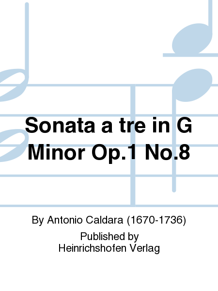 Sonata a tre in G Minor Op. 1 No. 8