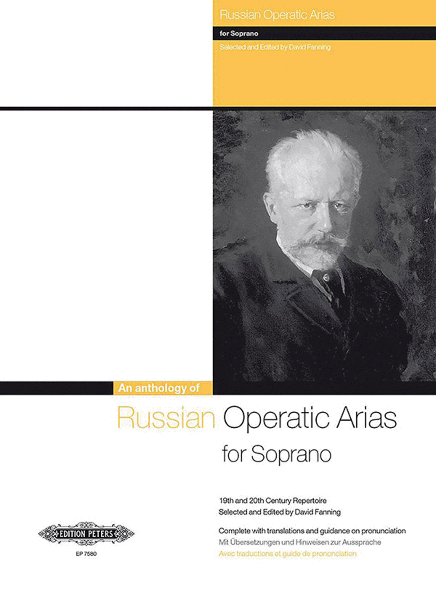 Russian Opera Arias for Soprano (19th-20th C)