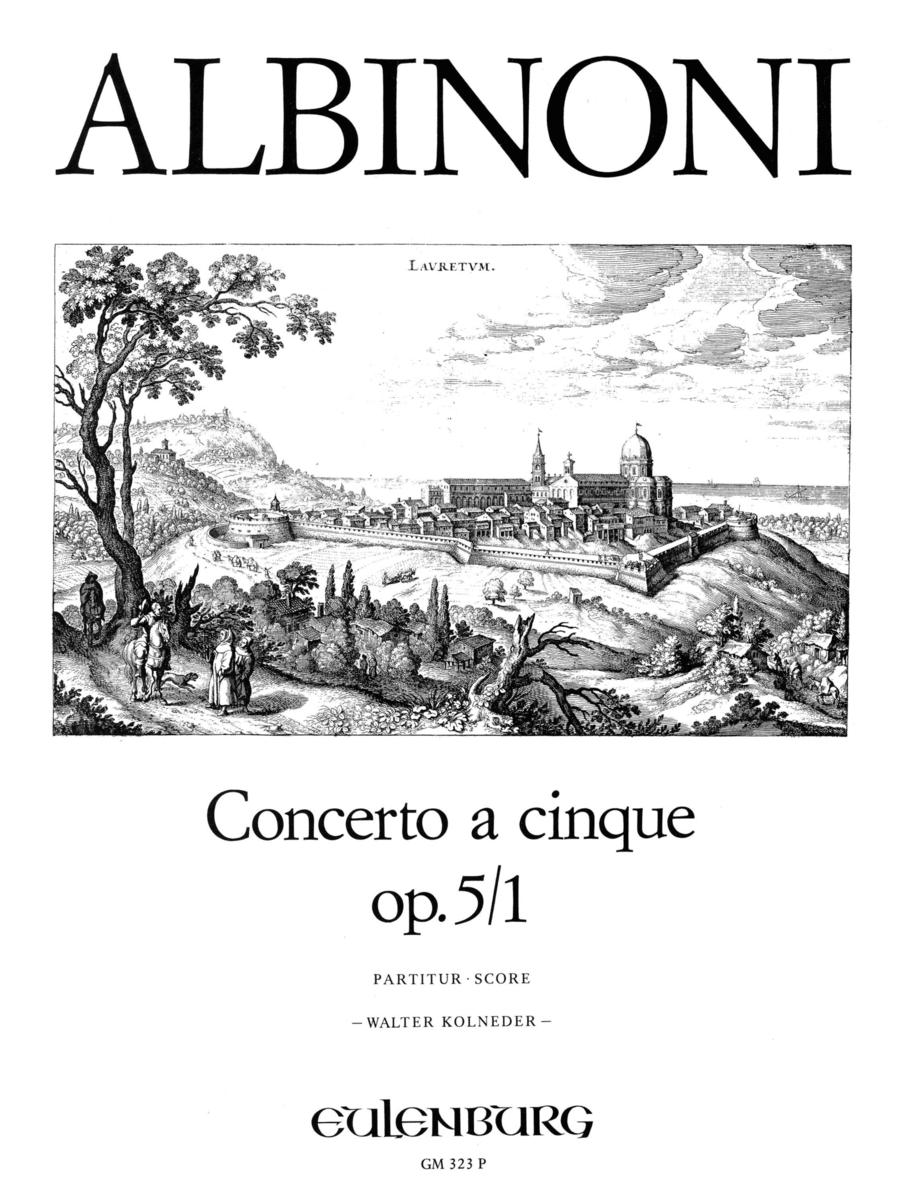 Concerto a cinque in Bb Op.5 No.1