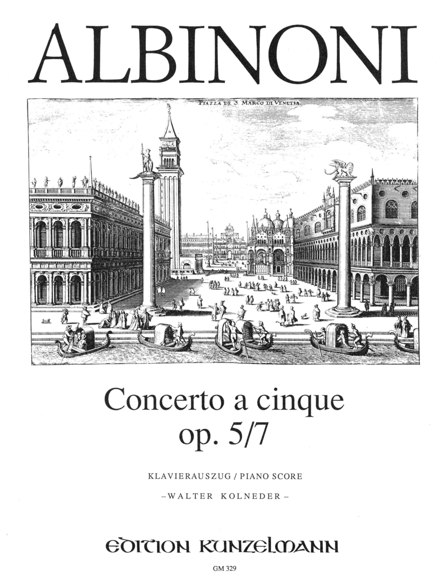 Concerto a cinque in D Minor Op.5 No.7