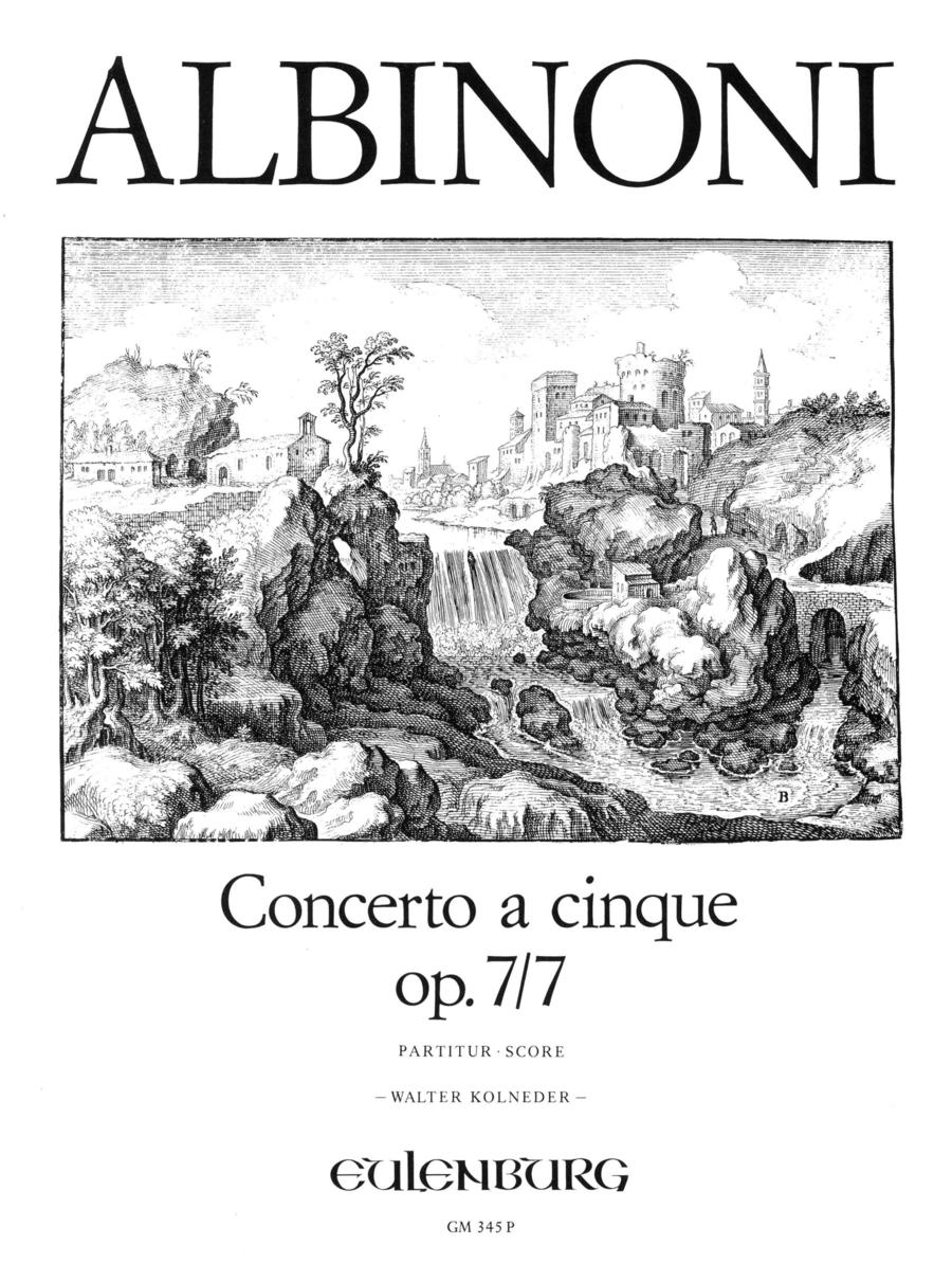 Concerto a cinque in A Major Op. 7 No. 7