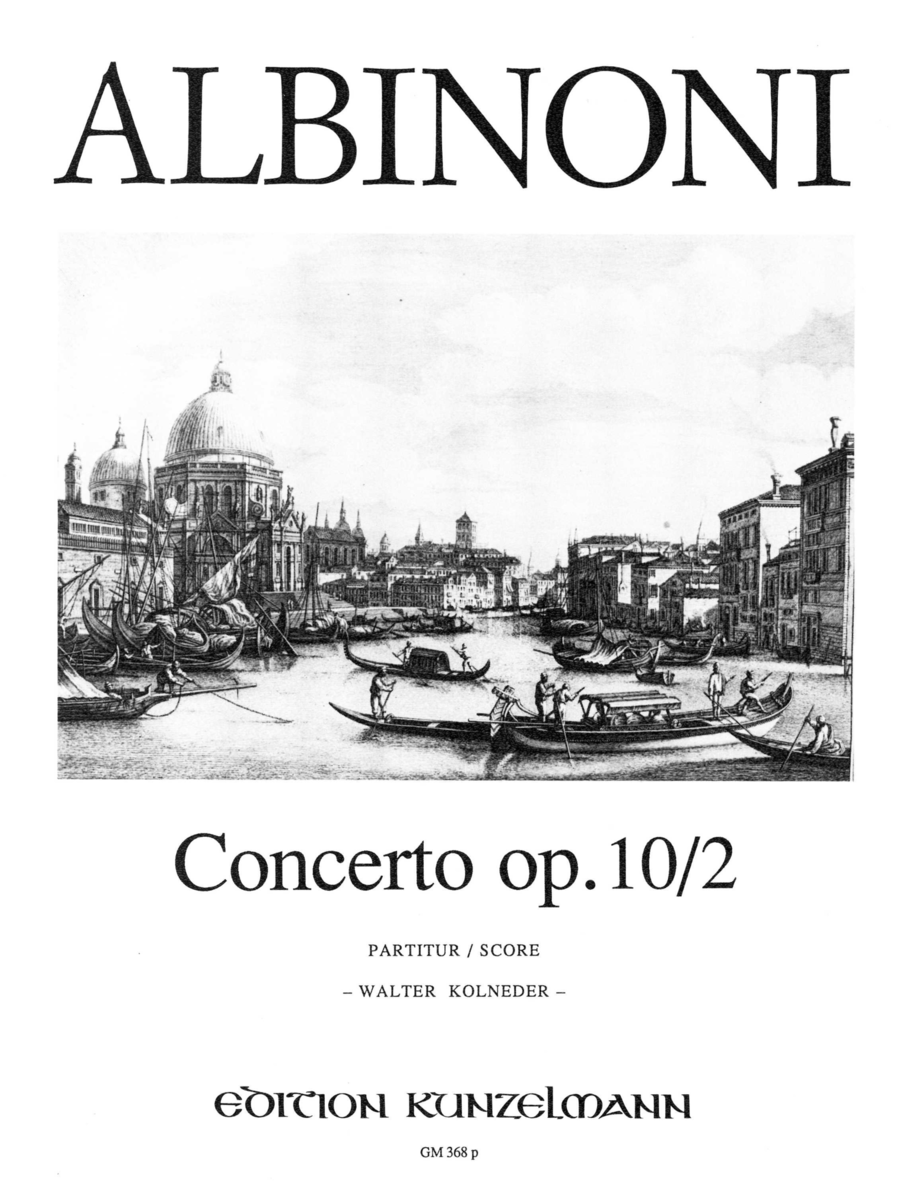 Concerto a cinque in G Minor Op.10 No.2