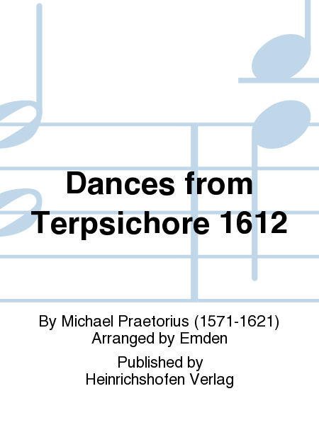 Dances from Terpsichore 1612
