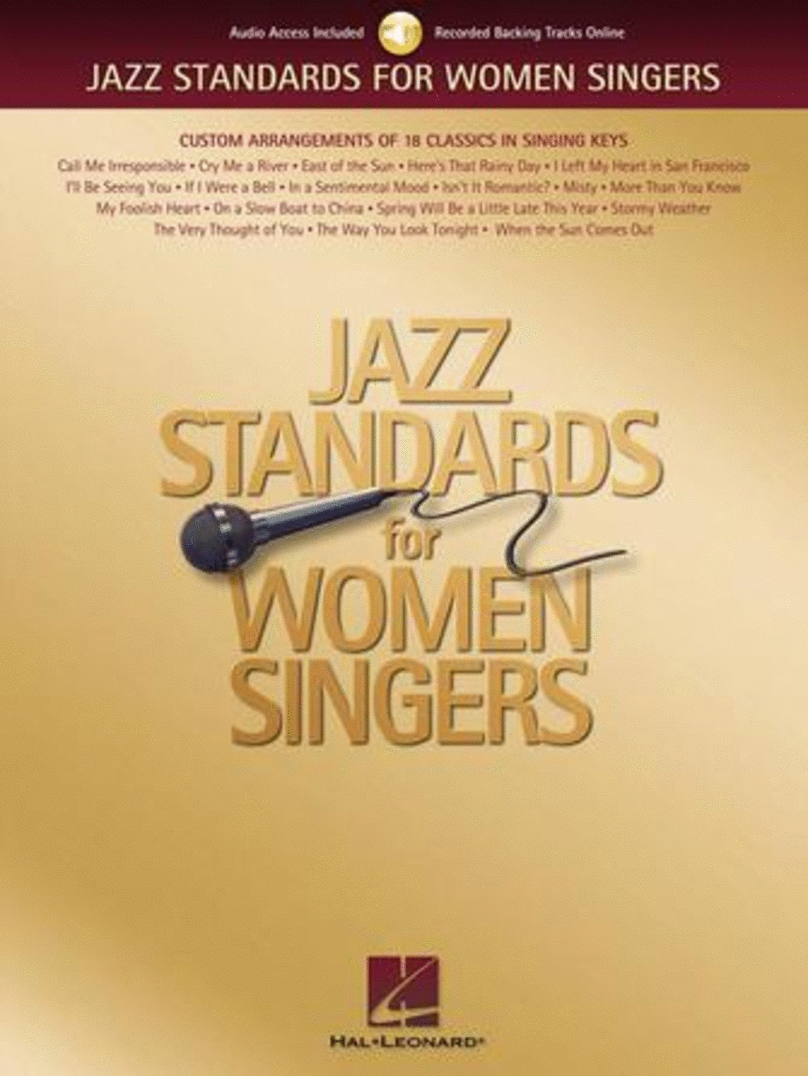 Jazz Standards for Women Singers