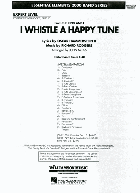 I Whistle a Happy Tune