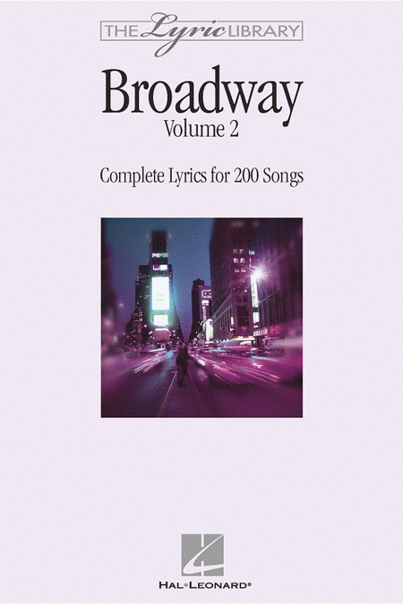 The Lyric Library: Broadway Volume II