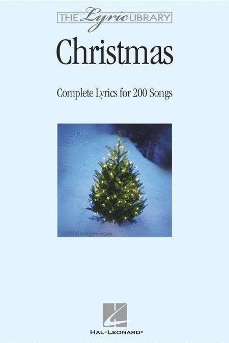 The Lyric Library: Christmas