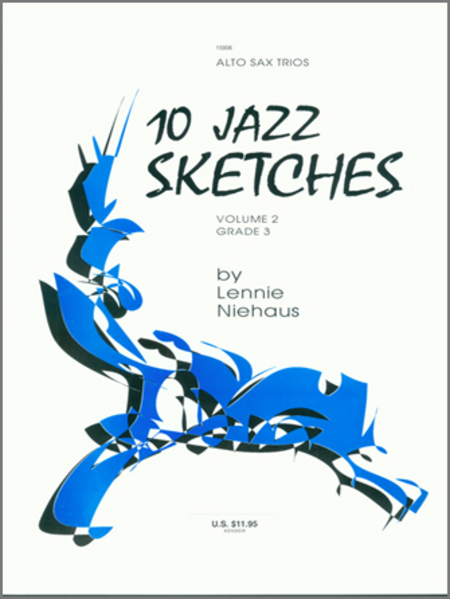 10 Jazz Sketches, Volume 2 (altos)