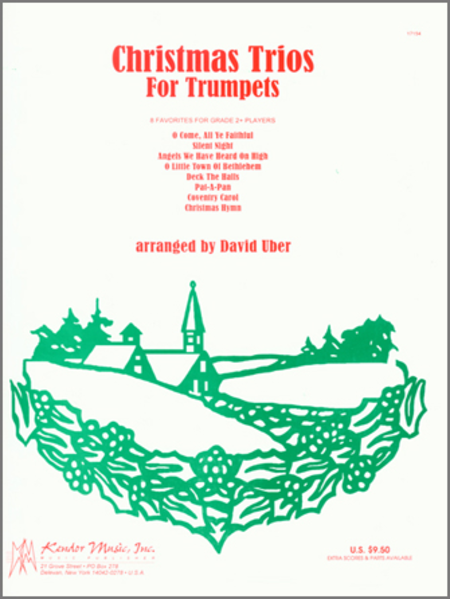 Christmas Trios for Trumpets