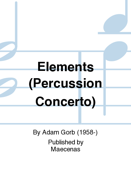 Elements (Percussion Concerto)