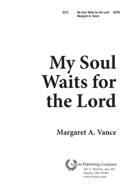 My Soul Waits for the Lord