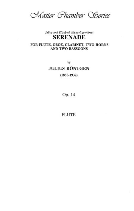 Serenade, Op. 14