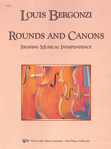 Rounds and Canons: Shaping Musical Independence - Score