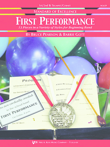 Standard of Excellence First Performance, 1st/2nd Trumpet-Cornet