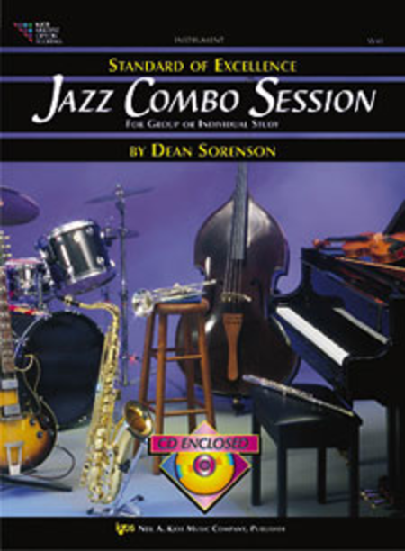 Standard of Excellence Jazz Combo Session-Trumpet/Tenor Sax/Clarinet/Bass Clarinet/Baritone T.C.