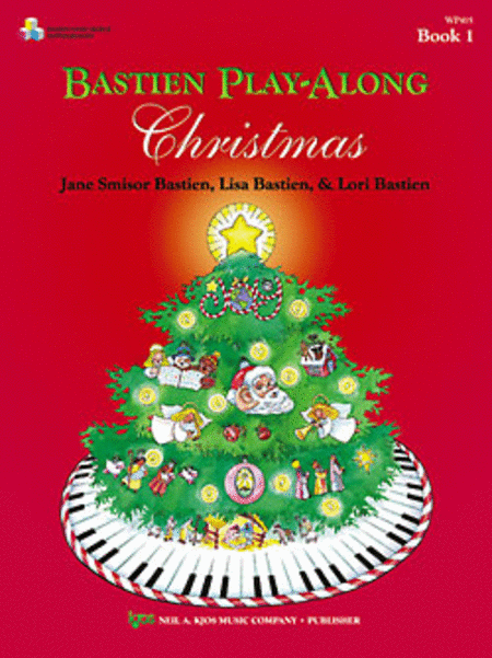 Bastien Play-Along Christmas (Book & CD)