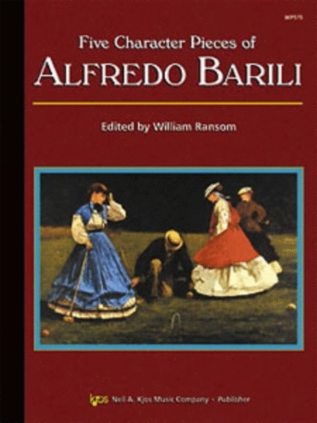 Five Character Pieces of Alfredo Barili