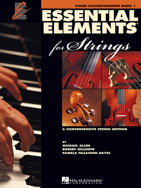Essential Elements 2000 for Strings - Book 1 (Piano Accompaniment)