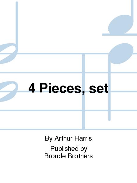 4 Pieces, set