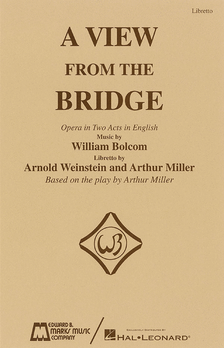 A View from the Bridge - Libretto