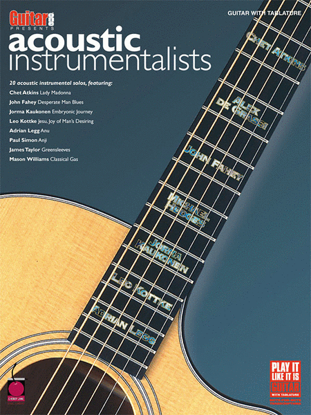 Guitar One Presents Acoustic Instrumentalists