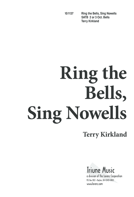 Ring the Bells, Sing Nowells