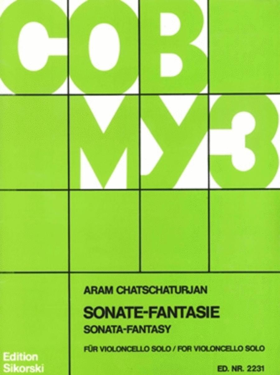 Sonate Fantasie for Solo Cello