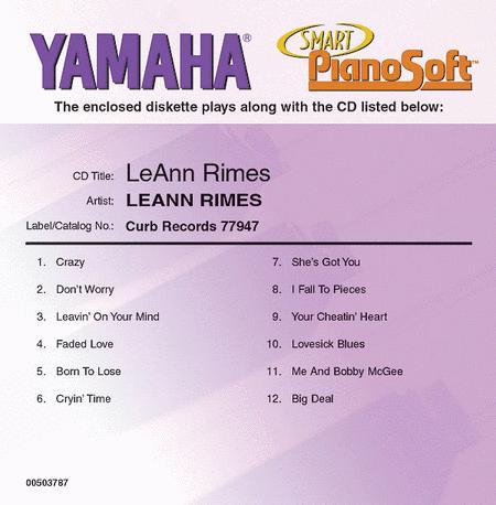 LeAnn Rimes - Piano Software