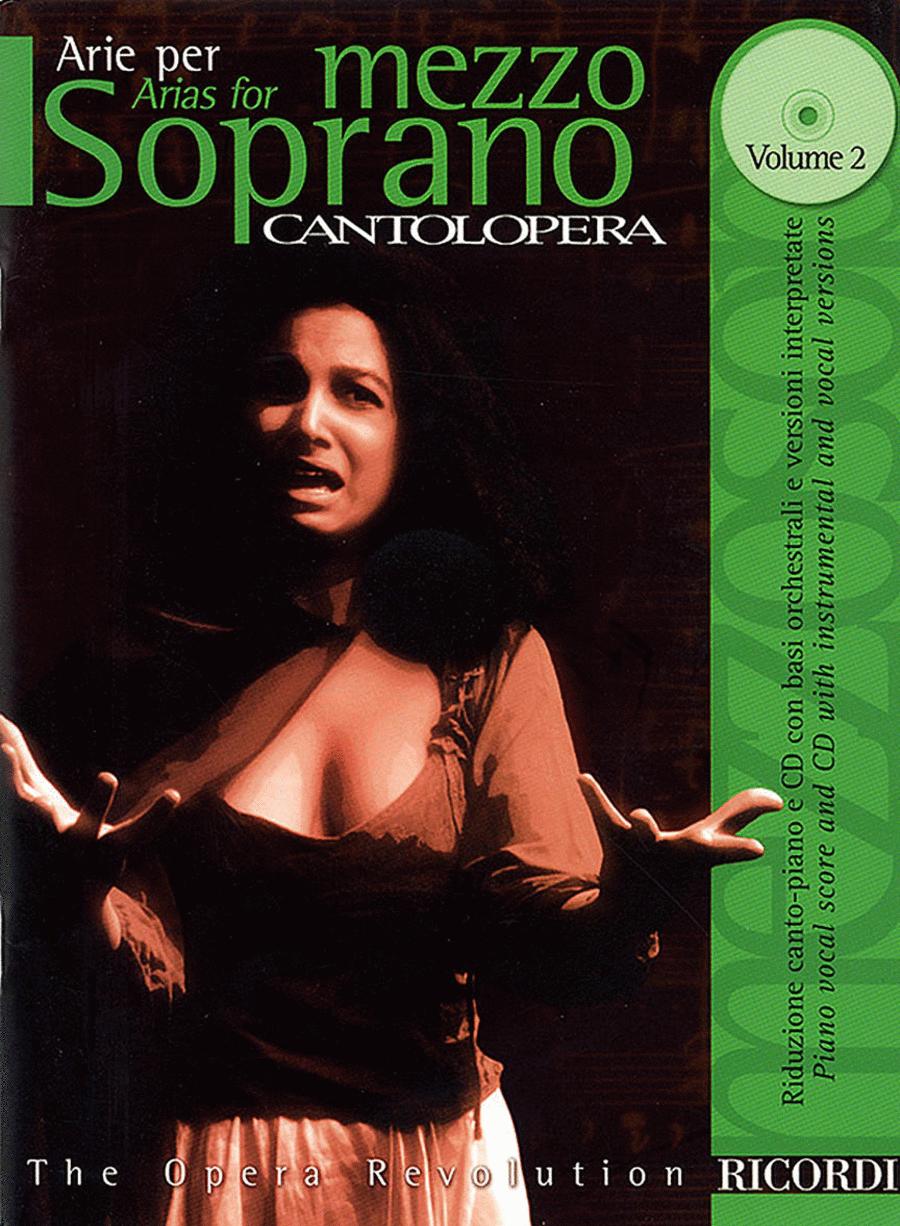 Cantolopera: Arias for Mezzo-Soprano - Volume 2