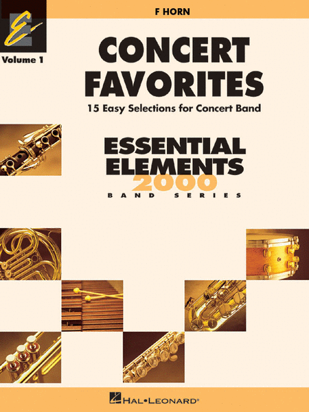 Concert Favorites Vol. 1 - F Horn