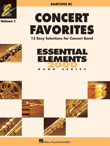 Concert Favorites Vol. 1 - Baritone B.C.