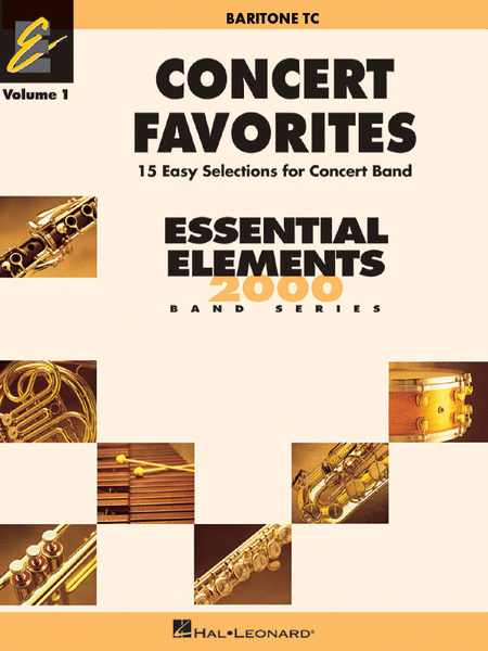Concert Favorites Vol. 1 - Baritone T.C.