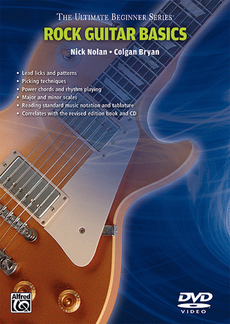 ultimate beginner series rock styles guitar dvd sheet music by nick nolan sheet music plus. Black Bedroom Furniture Sets. Home Design Ideas