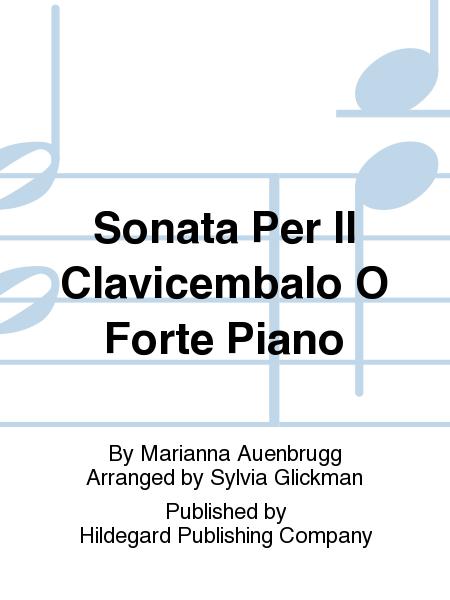 Sonata Per Il Clavicembalo O Forte Piano