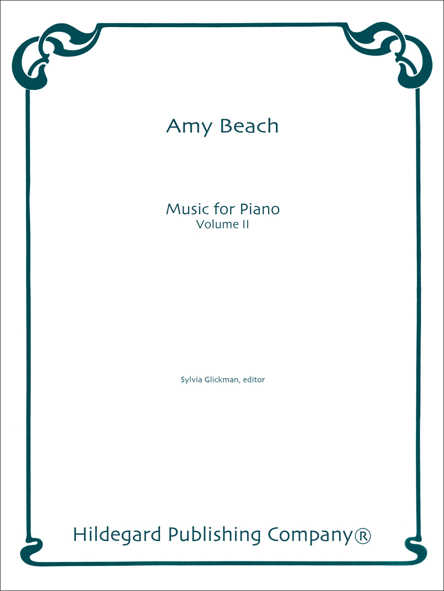 Music for Piano Vol. II