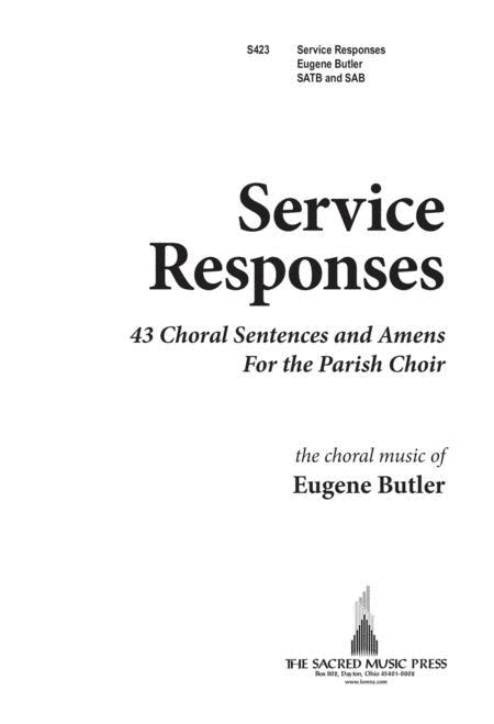 Service Responses