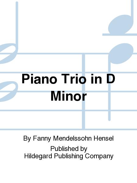 Piano Trio in D Minor