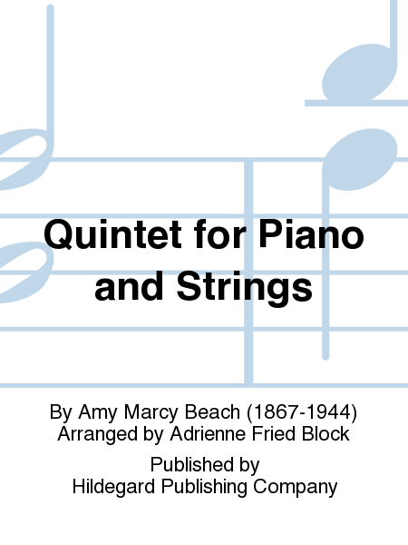 Quintet For Piano And Strings