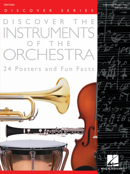 Discover the Instruments of the Orchestra (24 Posters)