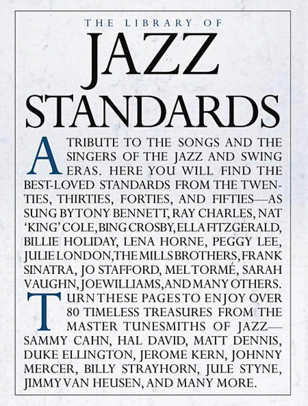 The Library of Jazz Standards