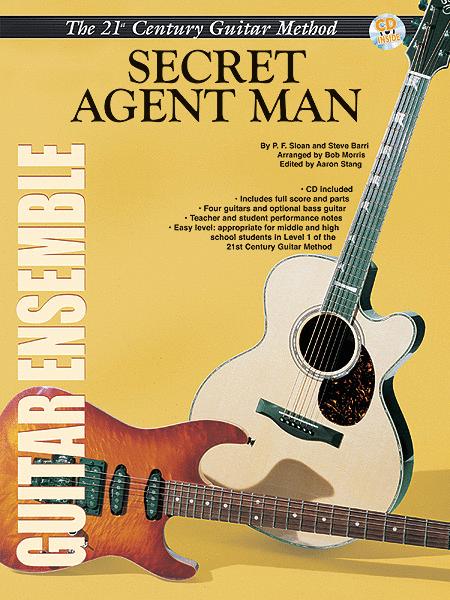 Belwin's 21st Century Guitar Ensemble -- Secret Agent Man