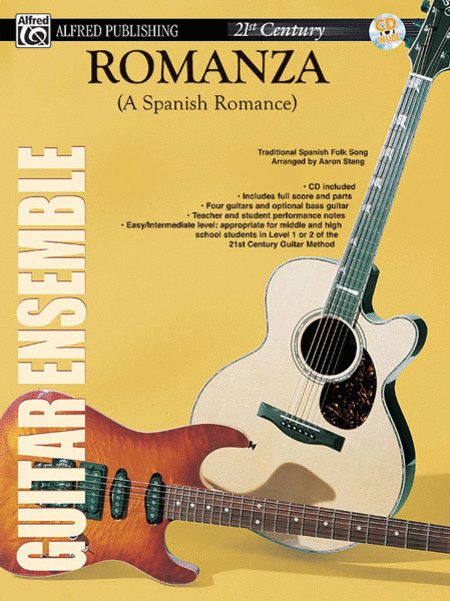 Belwin's 21st Century Guitar Ensemble -- Romanza