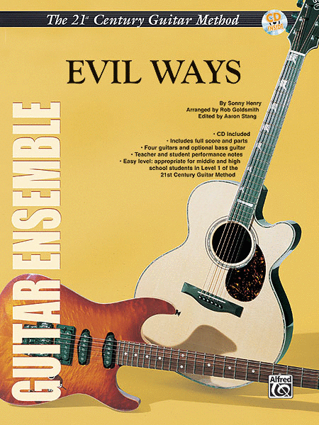 Belwin's 21st Century Guitar Ensemble -- Evil Ways