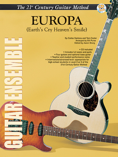 Belwin's 21st Century Guitar Ensemble -- Europa (Earth's Cry Heaven's Smile)