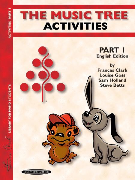The Music Tree - Part 1 (Activities) - English/Australian Edition
