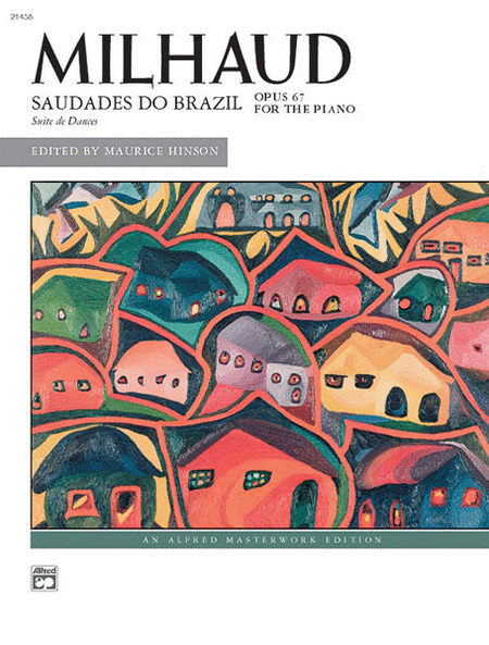 Milhaud -- Saudades do Brazil